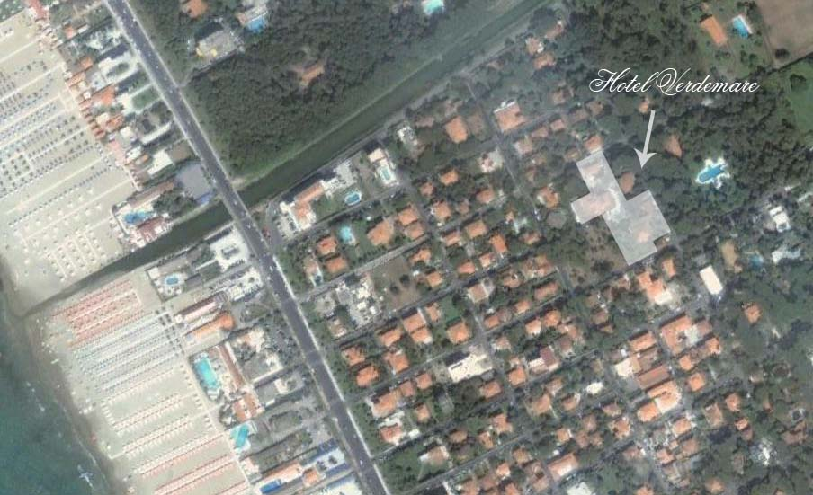 Hotel Verdemare Satellite View